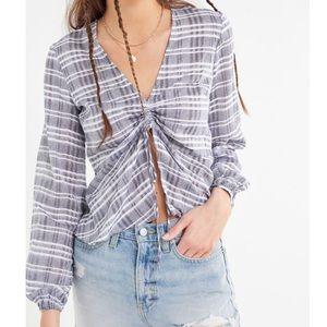 NWT Urban Outfitters Balloon Top